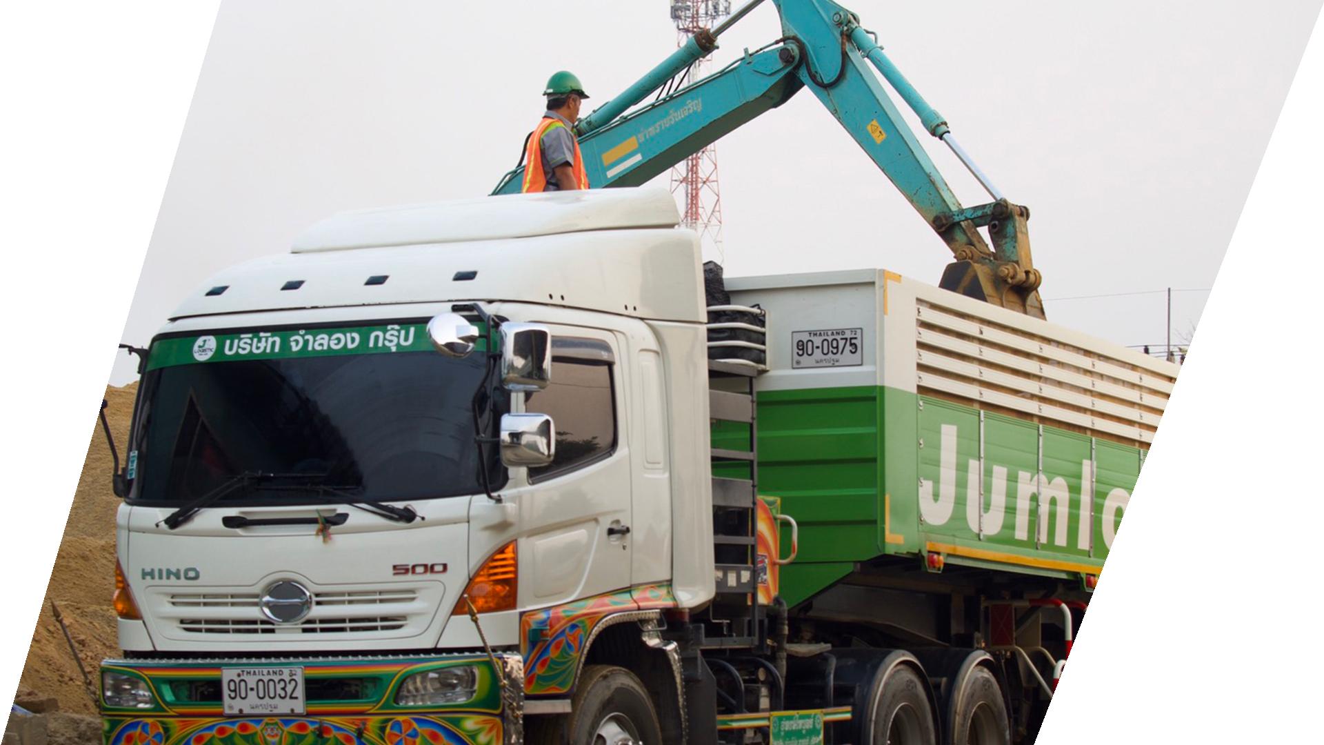 จำลองกรุ๊ป-จำหน่าย หิน ทราย วัตถุดิบก่อสร้าง-Jumlong Group